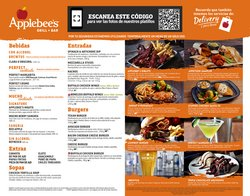 Ofertas de Restaurantes en el catálogo de Applebee's ( 13 días más)