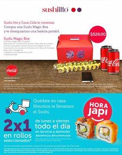 Catálogo Sushi Itto ( 2 días publicado )