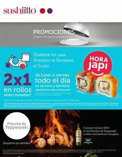 Ofertas de Restaurantes en el catálogo de Sushi Itto en Naucalpan (México) ( Vence mañana )
