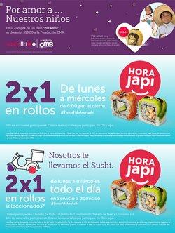 Ofertas de Restaurantes en el catálogo de Sushi Itto ( Publicado hoy)