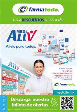 Ofertas de Farmacias y Salud en el catálogo de Farmatodo en Santiago de Querétaro ( Vence mañana )
