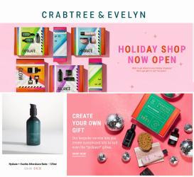 Ofertas de Crabtree Evelyn en el catálogo de Crabtree Evelyn ( Publicado ayer)