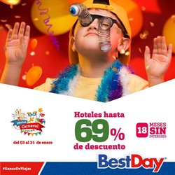 Ofertas de Viajes  en el folleto de Best Day en Tlaquepaque