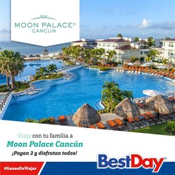 Ofertas de Viajes  en el folleto de Best Day en Colima