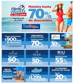 Ofertas de Viajes  en el folleto de Best Day en Tepic