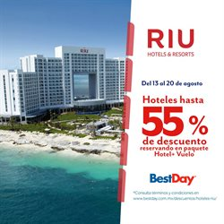 Ofertas de Viajes  en el folleto de Best Day en Ramos Arizpe