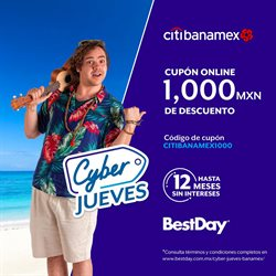 Ofertas de Viajes  en el folleto de Best Day en Juriquilla