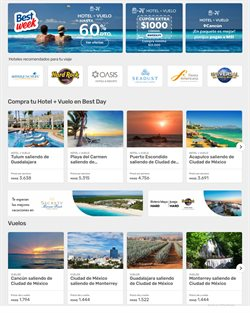 Ofertas de Viajes en el catálogo de Best Day en Ecatepec de Morelos ( Caduca hoy )