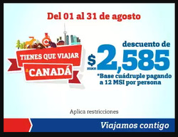 Ofertas de Viajes  en el folleto de Best Day en Colima
