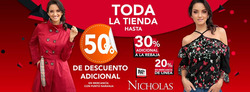 Ofertas de Nicholas  en el folleto de Gustavo A Madero