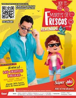 Ofertas de Hiper-Supermercados en el catálogo de Súper Aki ( Vence hoy)