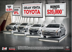 Ofertas de Toyota  en el folleto de Zapopan