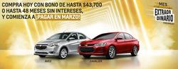 Cupón Chevrolet en Reynosa ( 3 días más )
