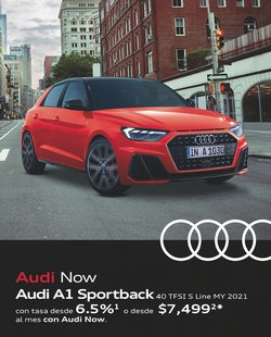 Ofertas de Autos, Motos y Repuestos en el catálogo de Audi ( Vence hoy)