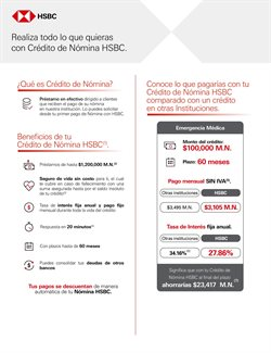 Catálogo HSBC ( 2 días publicado )