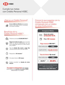 Catálogo HSBC ( Más de un mes)