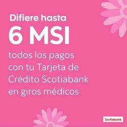 Ofertas de Bancos y Servicios en el catálogo de Scotia Bank ( 4 días más)