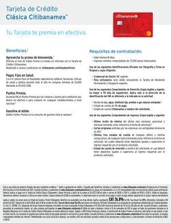 Catálogo Citibanamex ( Más de un mes)