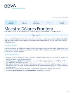 Catálogo BBVA Bancomer ( 18 días más)