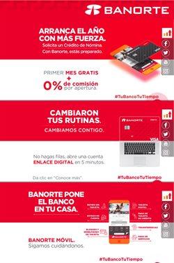 Ofertas de Bancos y Servicios en el catálogo de Banorte en Naucalpan (México) ( Vence mañana )