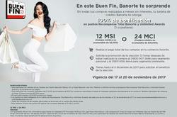 Ofertas de Banorte  en el folleto de Monterrey