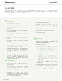 Catálogo Banco Azteca ( Más de un mes)