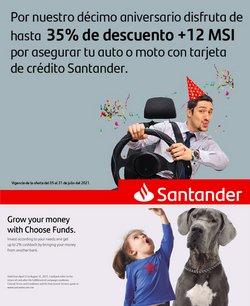 Ofertas de Bancos y Servicios en el catálogo de Santander ( 5 días más)