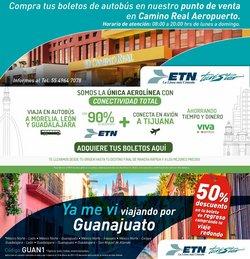 Ofertas de Viajes en el catálogo de Autobuses ETN en Guadalupe (Nuevo León) ( Publicado hoy )
