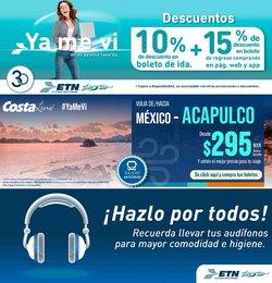 Ofertas de Viajes en el catálogo de Autobuses ETN ( 18 días más)