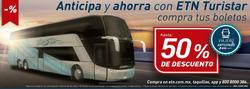 Cupón Autobuses ETN en Acapulco de Juárez ( Caduca hoy )