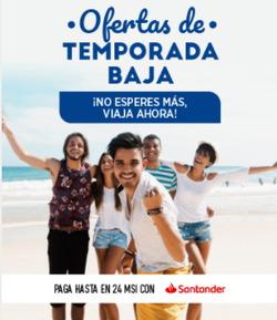 Ofertas de Despegar  en el folleto de Puerto Aventuras