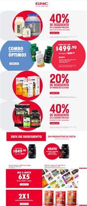 Ofertas de Farmacias y Salud en el catálogo de GNC en La Paz ( 8 días más )