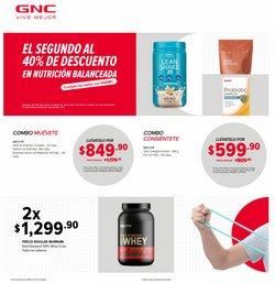 Ofertas de Farmacias y Salud en el catálogo de GNC en Ciudad Juárez ( 26 días más )