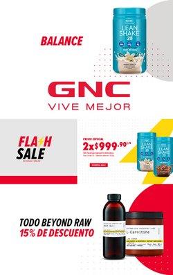 Ofertas de Farmacias y Salud en el catálogo de GNC ( Vence mañana )