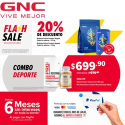 Ofertas de Farmacias y Salud en el catálogo de GNC ( 5 días más)