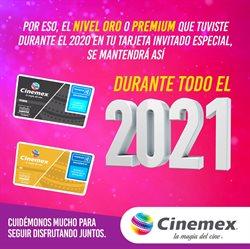 Catálogo Cinemex en Guadalupe (Nuevo León) ( Caducado )