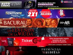 Ofertas de Cinemex en el catálogo de Cinemex ( Vencido)