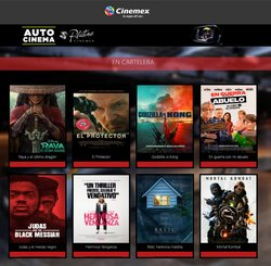 Ofertas de Ocio en el catálogo de Cinemex en Zapopan ( 2 días más )