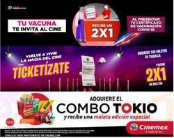 Ofertas de Ocio en el catálogo de Cinemex ( 12 días más)