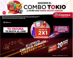 Ofertas de Ocio en el catálogo de Cinemex ( 4 días más)