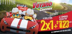 Ofertas de Libros y ocio  en el folleto de Cinemex en Guaymas