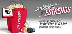 Ofertas de Libros y ocio  en el folleto de Cinemex en Ocotlán (Jalisco)