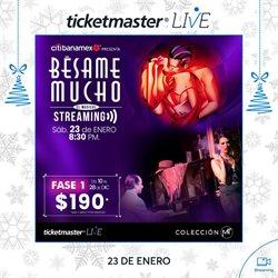 Ofertas de Ocio en el catálogo de Ticketmaster en Heróica Puebla de Zaragoza ( Caduca hoy )