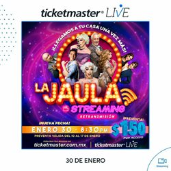 Ofertas de Ocio en el catálogo de Ticketmaster en Córdoba (Veracruz) ( 3 días más )
