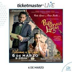 Catálogo Ticketmaster en Guadalupe (Nuevo León) ( Caducado )