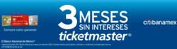Ofertas de Ticketmaster  en el folleto de Cuauhtémoc (Ciudad de México)