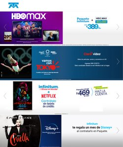 Ofertas de Electrónica y Tecnología en el catálogo de Telmex ( Publicado hoy)