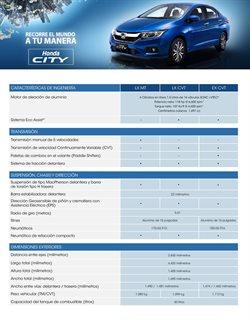 Catálogo Honda en Chihuahua ( Más de un mes )