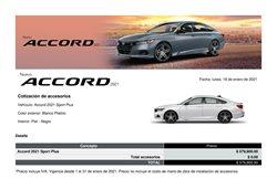 Catálogo Honda ( 7 días más )