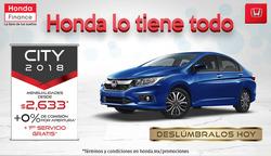 Ofertas de Honda  en el folleto de Monterrey